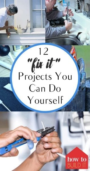 Fix It Projects, Home Improvement, Home Improvement Projects, DIY Home Improvement, DIY Home Decor, Home Decor Projects, Home Decor TIps