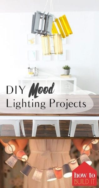 DIY Mood Lighting Projects| Mood Lighting, Mood Lighting Projects, DIY Lighting, Lighting Tips and Tricks, Home Lighting, Popular Pin #Lighting #MoodLighting #MoodLightingHacks