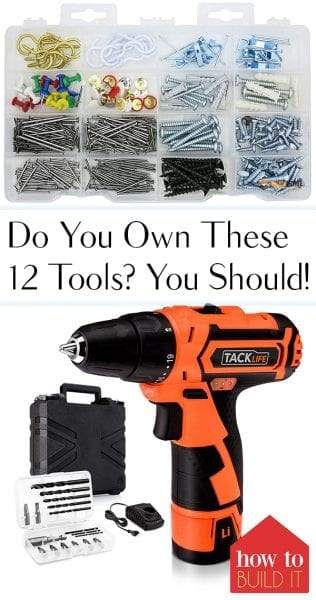 Do You Own These 12 Tools? You Should! Tools You Should Own, Tools, Home Improvement Tools, Home Improvement, DIY Home Improvement, Home Improvement Tips and Tricks, DIY Home #HomeImprovement #HomeImprovementTips #DIYHome #HomeHacks #Tools