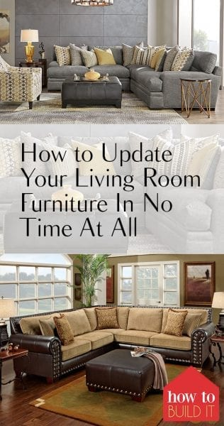 How to Update Your Living Room Furniture In No Time At All| How to Update Your living Room Furniture, Updating Your Living Room Furniture, DIY Furniture, Living Room Upgrades, Living Room DIYs, Home Improvement, Home Improvement Projects, Popular Pin