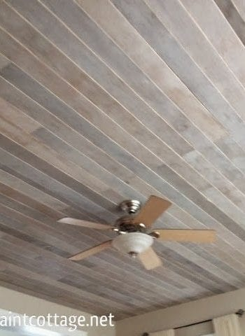 Install a Planked Ceiling In No Time at All| Planked Ceiling Projects, DIY Planked Ceiling Projects, How to Install A Planked Ceiling, How to Build A New Ceiling, DIY Ceiling Projects, Ceiling Projects for the Home, Planked Ceiling DIYs, Popular Pin