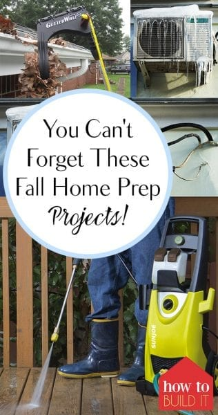 You Can't Forget These Fall Home Prep Projects! | Fall Home Prep, Fall Home Prep Projects, Home Prep, Fall Home Improvement, DIY Home Improvement, Home Improvement Hacks, Popular Pin. #FallHomePrep #HomeImprovement #FallHomeImprovement