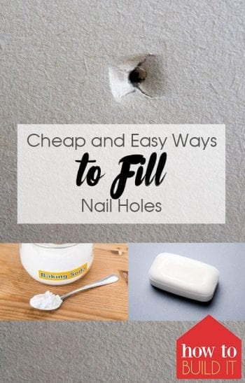 Cheap and Easy Ways to Fill Nail Holes| How to Fill Nail Holes, Easily Fill Nail Holes, Home Improvement, Home Improvement Projects, DIY Home Improvement, Fast Home Improvement Projects #HomeImprovement #HomeImprovementProjects #DIYHome