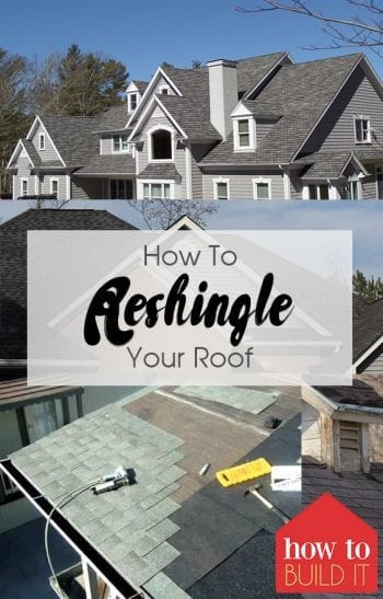 How To Reshingle Your Roof| How to Repair Your Roof, Reshingle Your Roof, Home Repair, DIY Home Repair, Home Repair Hacks, DIY Home, DIY Home Improvement, Popular Pin #HomeRepair #DIYHomeRepair #DIYHome