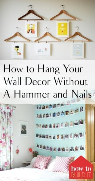 How to Hang Your Wall Decor Without A Hammer and Nails| Wall Decor, Hanging Wall Decor, Easily Hang Your Wall Decor, Renter Friendly Wall Decor, Wall Decor Projects. #WallDecor #RenterFriendly #WallHangingHacks