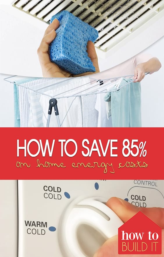 How to save 85 on home energy costs how to build it for How to save to build a house