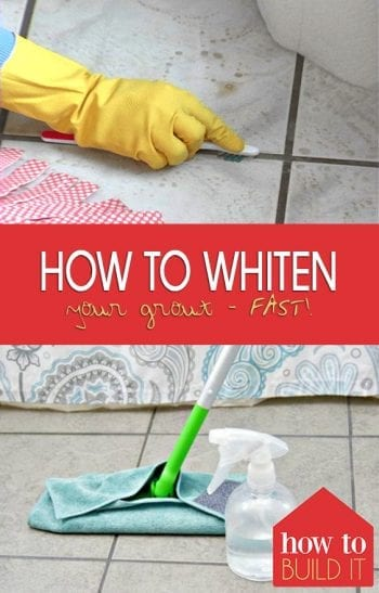 Whiten Grout, Whiten Grout Lines, Whiten Grout DIY Bathrooms, Whiten Grout Naturally, Home Improvement, Home Improvement Tips
