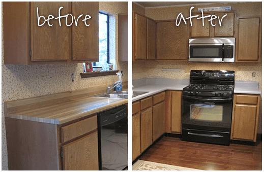 Laminate Countertops, Refinish Laminate Countertops, DIY Home Decor, Home Decor Ideas, DIY Home, Home Improvement, Home Improvement Ideas, Home Improvement Projects