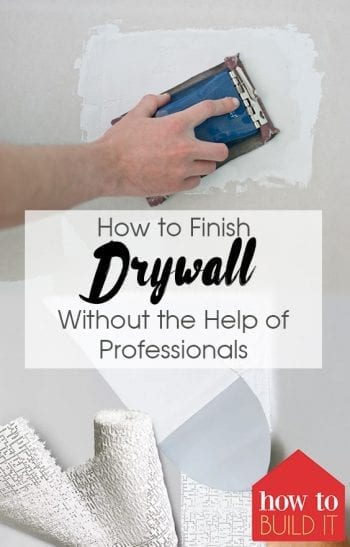 How to Finish Drywall Without the Help of Professionals| Finish Drywall, Drywall Repair, How to Repair Drywall, Easily Repair Drywall, Popular Pin #Drywall #RepairDrywall