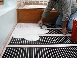 How to Install Heated Flooring-Easily!| Heated Flooring DIYs, DIY Home Improvement, DIY Flooring, dIY Flooring for the Home, Home Decor, Home Decor Hacks, Popular Pin #DIYFlooring #HomeDecor