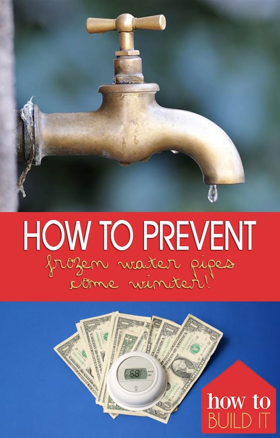 How to Prevent Frozen Water Pipes Come Winter!| Winter Home Care, Winter Care, Home Care Tips and Tricks, Prevent Frozen Pipes, How to Prevent Frozen Water Pipes, Popular Pin #HomeCare #FrozenPipes