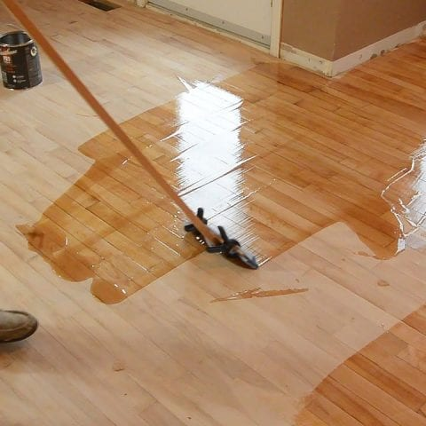 Refinish Your Wood Floors Without Professional Help!| Refinish Your Flooring, How to Refinish Your Wood Floor, Wood Floor DIYs, DIY Home Improvements, Home Improvement Hacks, Quick Home Improvements, Popular Pin #HomeImprovement #DIYHome