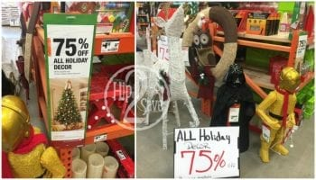 check by the contractor station for holiday clearance deals to get rid of holiday items home depot will mark them off by nearly 90 percent - Home Depot Christmas Clearance