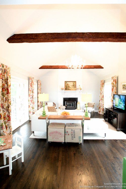 Install Wood Beams, Wooden Beams, Install Wooden Beams, Wooden Beams Kitchen, Wooden Beams In Living Room, Home Decor, Home Decor Ideas, Home Improvement Ideas