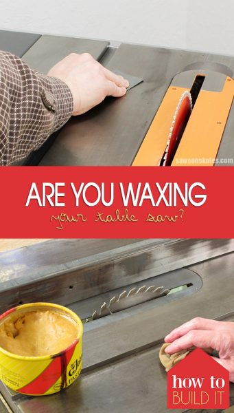 Are You Waxing Your Table Saw?| Table Saw, Table Saw Care, Caring for Your Table Saw, Easily Care for Your TableSaw, Home, Caring for Tools, Tool Care, Table Saw Care, How to Care for Your Table Saw, Popular Pin #ToolCare #TableSawCare