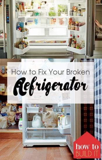 Broken Refrigerator, Fridge Repair, Home Hacks, Life Hacks, Tips and Tricks