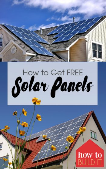 How to Get FREE Solar Panels| Solar Panels, WHere to Get Free Solar Panels, Solar Panels for Your Home, Free Home Improvements, Save Energy, Energy Efficient Home, Popular Pin #SolarPanels #Free