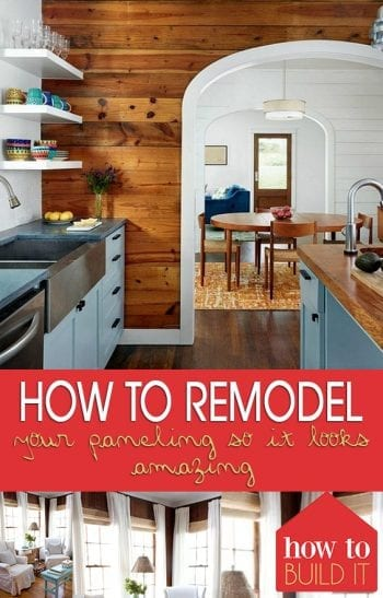 How to Remodel Your Paneling So It Looks Amazing| Remodel Your Paneling, How to Remodel Wood Paneling, Home Improvement, DIY Home Improvement, Home Improvement Hacks #Remodel #HomeImprovement #HomeHacks