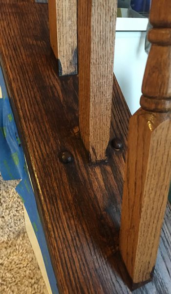 EasilUpgrade Banister, DIY Upgrade Banister, Upgrade Banister DIY, DIY Home Decor, Home Decor Ideas, Home Improvement, Home Improvement Ideas