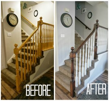 Upgrade Banister, DIY Upgrade Banister, Upgrade Banister DIY, DIY Home Decor, Home Decor Ideas, Home Improvement, Home Improvement Ideas