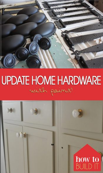 Update Home Hardware with Paint!| Home Hardware, Paint Home Hardware, How to Paint Home Hardware, Painting Home Hardware, DIY Home Hardware, Home Hardware Updates, Hardware, DIY Hardware #HomeHardware #DIYHardware