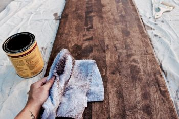 Stain Wood, Stain Wood DIY, Stain Wood Furniture, Stain Wood Flooring, DIY Home, Home Decor, Home Decor Ideas, Easy Home Decor Ideas