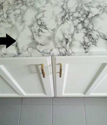Marble Countertops, Fake Marble Countertops, Marble Countertops Kitchen, Marble Countertops DIY, Marble Countertops Bathroom, DIY Home Decor, Home Decor, Home Improvements, DIY Home Improvements