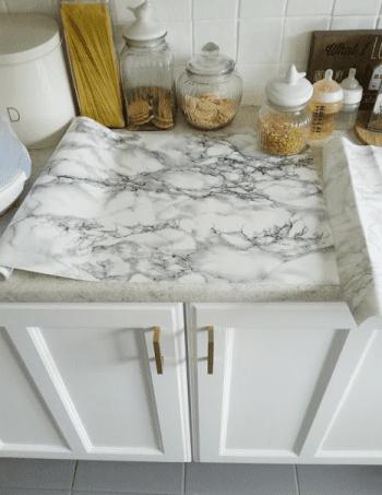 Marble Countertops, Fake Marble Countertops, Marble Countertops Kitchen, Marble  Countertops DIY, Marble
