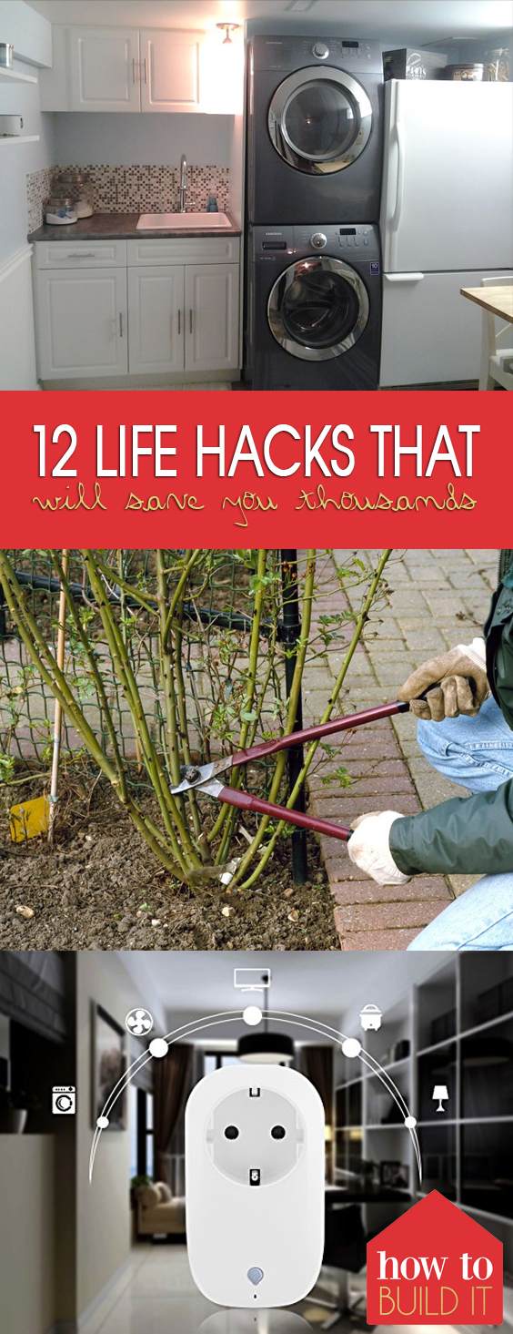 12 Life Hacks That Will Save You Thousands| Life Hacks, Home Hacks, DIY Home Hacks, Easy Home Hacks, Easy Life Hacks, Life Hacks for the Home, Home Improvement Hacks, Popular Pin #HomeHacks #LifeHacks