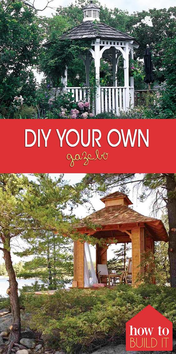 DIY Your Own Gazebo| Gazebo Ideas, DIY Gazebo, DIY Gazebo Ideas Cheap, DIY Gazebo Ideas, Gazebo Ideas Backyard, Outdoor Patio Ideas, Outdoor DIY #GazeboIdeas #DIYGazebo #DIYGazeboIdeas