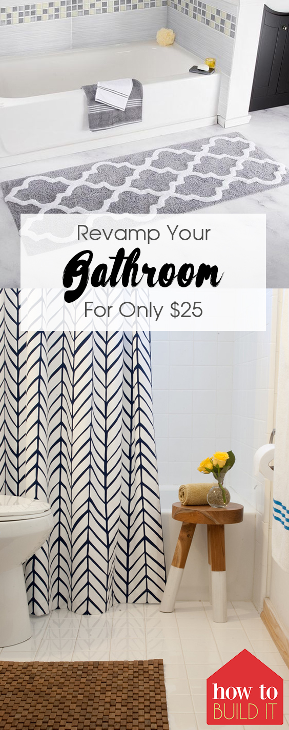Revamp Your Bathroom For Only $25| Revamp Your Bathroom, Bathroom Ideas, Bathroom Decor, Bathroom Remodel, Bathroom Remodel On a Budget, Bathroom Remodel Ideas, Bathroom Remodeling