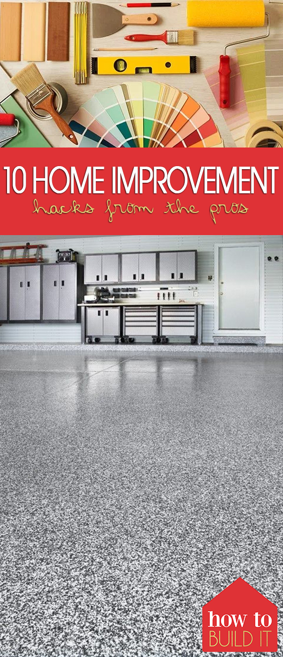 10 Home Improvement Hacks from the Pros| Home Improvement DIY, Home Improvement Ideas, DIY Home Stuff, Home Improvement DIY On a Budget , Home Improvement Projects