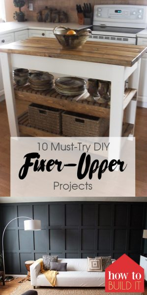10 Must-Try DIY Fixer-Upper Projects| Fixer Upper, Fixer Upper Projects, Fixer Upper Home Projects, Fixer Upper, Home Decor, Home Decor DIY, Home Decor Ideas, DIY Home Decor, DIY Home Decor Projects, DIY Home Decor Rustic