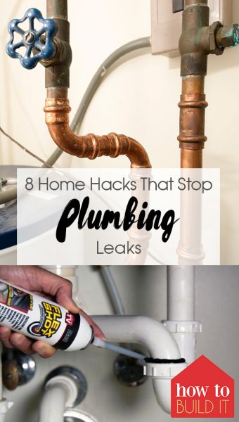 8 Home Hacks That Stop Plumbing Leaks|Plumbing Leaks, Home Hacks,  Home DIY, Home Improvement, Home Improvement DIY, Home Hacks, DIY Home Hacks, Home Hacks DIY