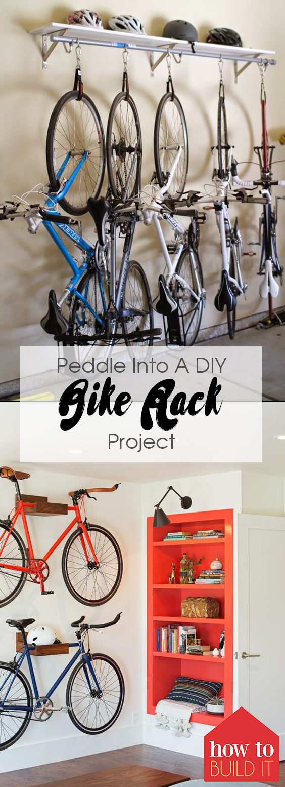 Peddle Into A DIY Bike Rack Project| Bike Rack, DIY Bike Rack, DIY, DIY Project, DIY Projects for the Home