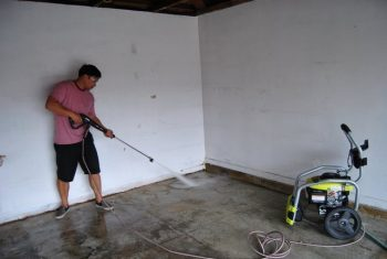 Easy Tips for Painting A Garage Floor (And Making It Last)| Garage Floor, Garage Floor Painting Tips, Painting Garage Floors, Painting Tips, Garage Painting Tips, Painting Tips and Tricks, Garage Floor Ideas