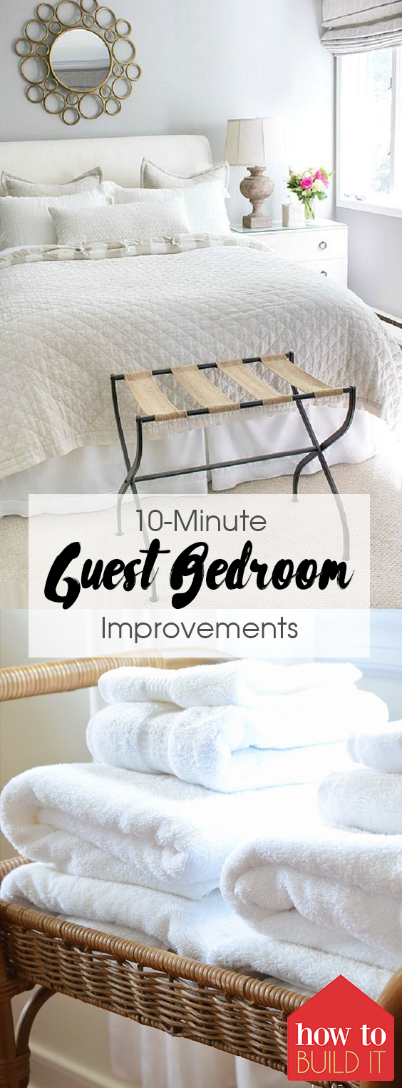 10-Minute Guest Bedroom Improvements| Guest Bedroom, Guest Bedroom Ideas, Guest Bedroom Decor Small, Guest Bedroom Ideas Easy,   Guest Bedroom Ideas on A Small Budget