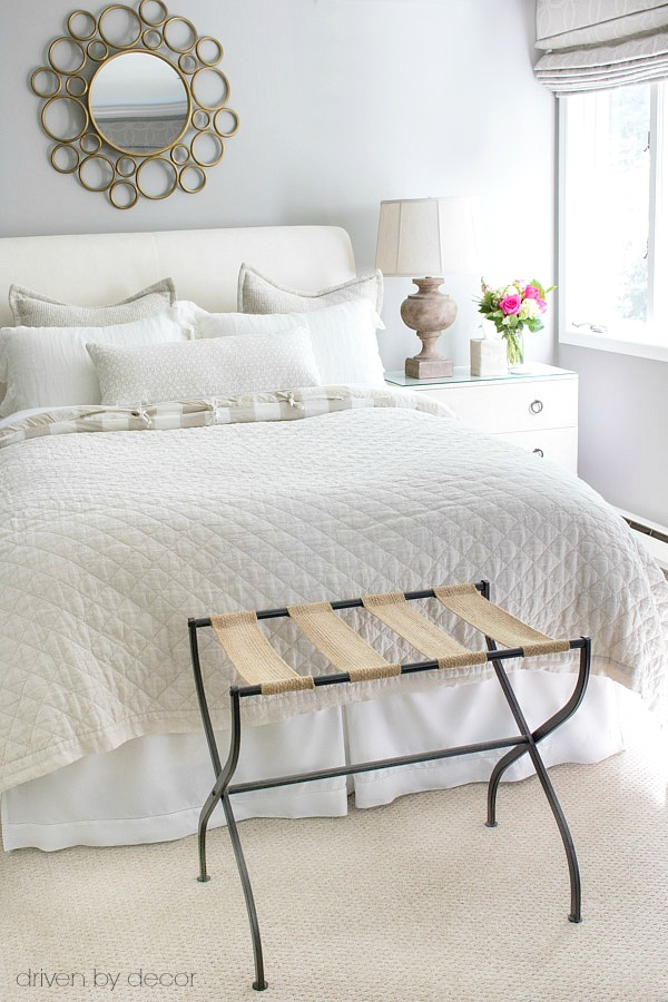 10-Minute Guest Bedroom Improvements| Guest Bedroom, Guest Bedroom Ideas, Guest Bedroom Decor Small, Guest Bedroom Ideas Easy, Guest Bedroom Ideas on A Small Budget