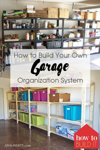 How to Build Your Own Garage Organization System  Garage Organization, Garage Organization Ideas, Garage Organization DIY, Garage Organization Cheap, Organization, Organization Ideas, Organize, Organize Ideas