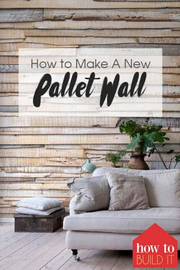 How to Make A New Pallet Wall| Pallet Wall, DIY Pallet Wall, Pallet Projects, Pallet Ideas, DIY Home, Home Decor, Home Decorating Ideas, DIY Project