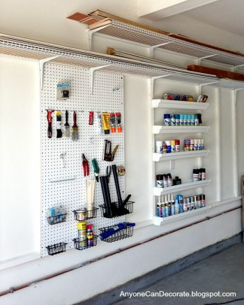 How to Build Your Own Garage Organization System| Garage Organization, Garage Organization Ideas, Garage Organization DIY, Garage Organization Cheap, Organization, Organization Ideas, Organize, Organize Ideas