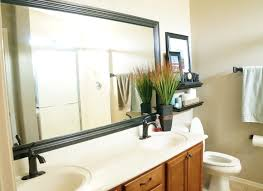 Bathroom Mirror | Framed Bathroom Mirror | Learn How to Frame a Bathroom Mirror | Tips and Tricks to Frame a Bathroom Mirror | Hacks to Frame a Bathroom Mirror