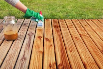 How to Refinish an Old Deck (Prep and Stain) | Refinish an Old Deck | How to Refinish an Old Deck | DIY Refinish an Old Deck | Deck | Stain Your Deck | DIY Tutorials