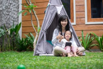 DIY Backyard Tents For Kids