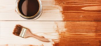 Stain for DIY rustic farmhouse table