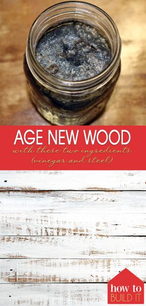 Age New Wood With These Two Ingredients (vinegar and steel) | Age New Wood | DIY Aged Wood | Aged Wood Tutorial | DIY Aged Wood Tips and Tricks | Age New Wood Tips and Tricks