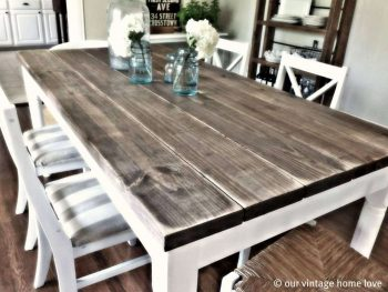 DIY Farmhouse Table | DIY Farmhouse Decor | DIY Dining Table | Build a Farmhouse Table | DIY Farmhouse Dining Table