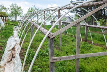PVc DIY greenhouse plans