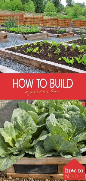 How to Build a Garden Box   Garden Box   Build a Garden Box   DIY Garden Box   Gardening   How to Build It: Garden Box