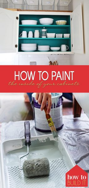 How to Paint The Inside of Your Cabinets | DIY Cabinet Hacks | DIY Kitchen Makeover | Paint the Inside of Your Cabinets | Home Makeover | Kitchen Renovations